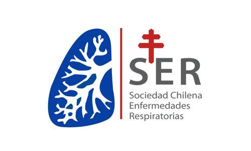 Logo de Sociedad Chilena de Enfermedades Respiratorias